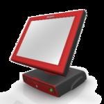 Сенсорный POS терминал AdvanPOS ZP-1500-E красно-черный